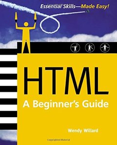 HTML: A Beginner's Guide, 2/e (Paperback)-cover