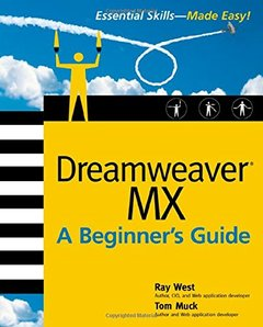 Dreamweaver MX: A Beginner's Guide-cover