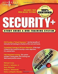 Security+ Study Guide and DVD Training System-cover