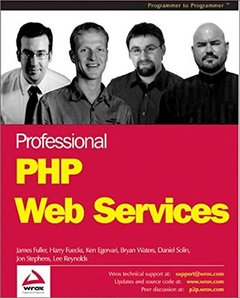 Professional PHP Web Services-cover