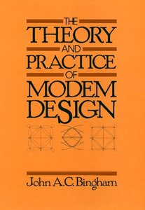 The Theory and Practice of Modem Design-cover
