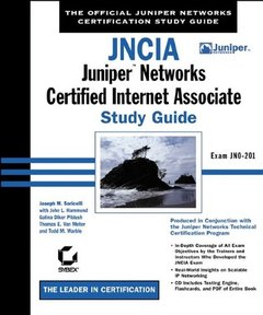 JNCIA: Juniper Networks Certified Internet Associate Study Guide-cover