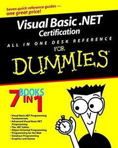 Visual Basic .NET All in One Desk Reference for Dummies-cover