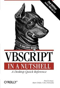 VBScript in a Nutshell, 2/e (Paperback)-cover
