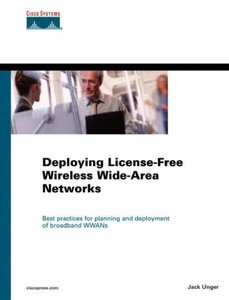 Deploying License-Free Wireless Wide-Area Networks (Hardcover)-cover