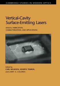Vertical Cavity Surface Emitting Lasers (Paperback)-cover