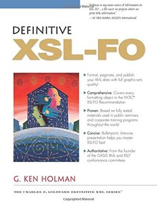 Definitive XSL-FO-cover