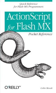 Action Script for Flash Mx Pocket Reference-cover