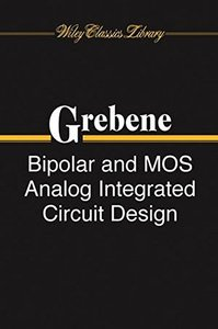 Bipolar and MOS Analog Integrated Circuit Design-cover