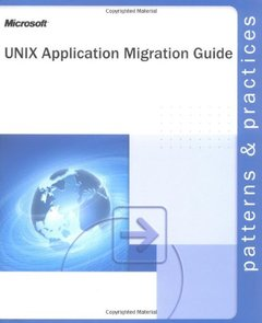 Unix Application Migration Guide (Paperback)-cover