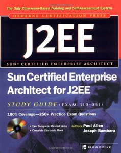 Sun Certified Enterprise Architect for J2EE Study Guide (Exam 310-051)-cover