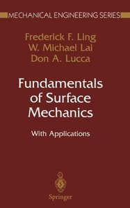Fundamentals of Surface Mechanics-cover