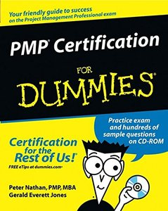 PMP Certification For Dummies-cover