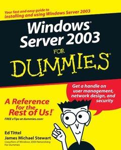 Windows Server 2003 for Dummies, 2/e-cover