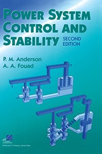 Power System Control and Stability, 2/e-cover