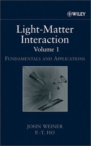 Light-Matter Interaction, Fundamentals and Applications (Hardcover)-cover
