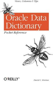 Oracle Data Dictionary Pocket Reference-cover
