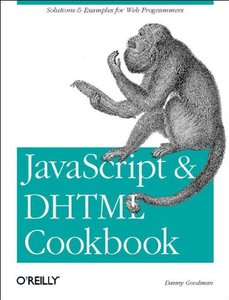 JavaScript & DHTML Cookbook-cover
