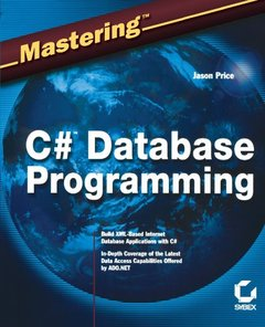 Mastering C# Database Programming-cover