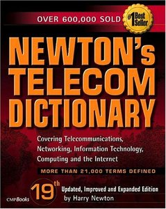 Newton's Telecom Dictionary, 19/e-cover