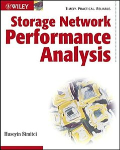 Storage Network Performance Analysis (Paperback)-cover