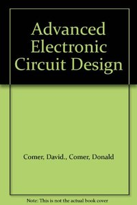 Advanced Electronic Circuit Design-cover