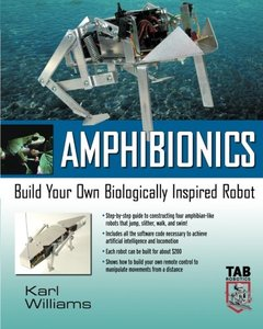 Amphibionics: Build Your Own Biologically Inspired Reptilian Robot-cover