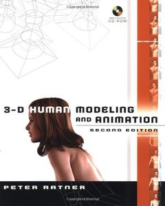 3-D Human Modeling and Animation, 2/e-cover