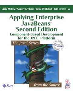 Applying Enterprise JavaBeans, 2/e-cover