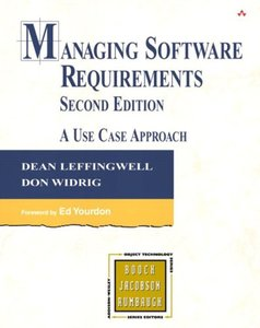 Managing Software Requirements: A Use Case Approach, 2/e (Hardcover)-cover