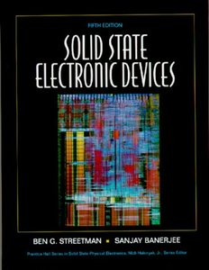 Solid State Electronic Devices, 5/e (Hardcover)-cover