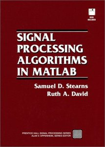 Signal Processing Algorithms in MATLAB-cover