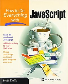 How To Do Everything with JavaScript (Paperback)-cover