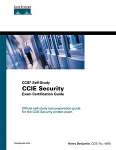 CCIE Security Exam Certification Guide (CCIE Self-Study)-cover