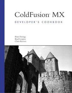 ColdFusion MX Developer's Cookbook (Paperback)-cover