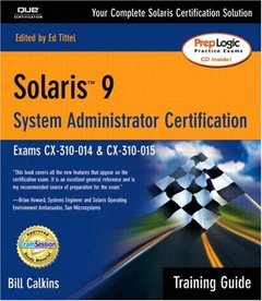 Solaris 9 System Administration Training Guide-cover