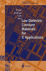 Low Dielectric Constant Materials for IC Applications-cover