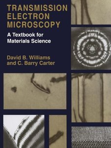 Transmission Electron Microscopy : A Textbook for Materials Science-cover
