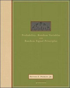Probability, Random Variables and Random Signal Principles, 4/e (IE-Paperback)-cover