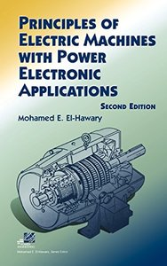 Principles of Electric Machines with Power Electronic Applications, 2/e-cover