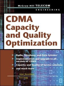 CDMA Capacity and Quality Optimization-cover