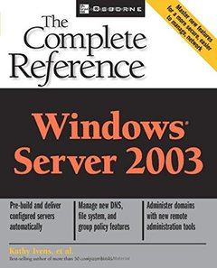 Windows Server 2003 : The Complete Reference (Paperback)-cover