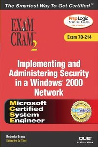 MCSA/MCSE Implementing and Administering Security in a Windows 2000 Network Exam-cover