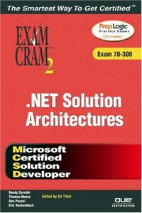 MCSD Analyzing Requirements and Defining .NET Solution Architectures Exam Cram 2-cover