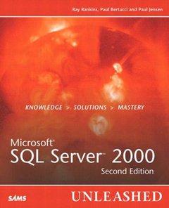 Microsoft SQL Server 2000 Unleashed, 2/e-cover