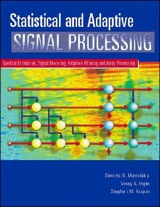 Statistical and Adaptive Signal Processing-cover