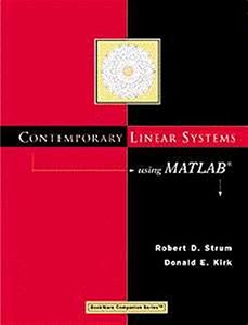 Contemporary Linear Systems Using MATLAB