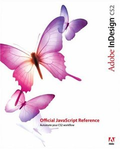 Adobe InDesign CS2 Official JavaScript Reference-cover