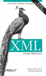 XML Pocket Reference, 3/e (Paperback)-cover