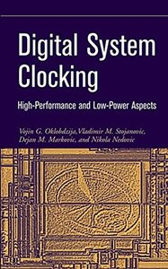 Digital System Clocking: High-Performance and Low-Power Aspects-cover